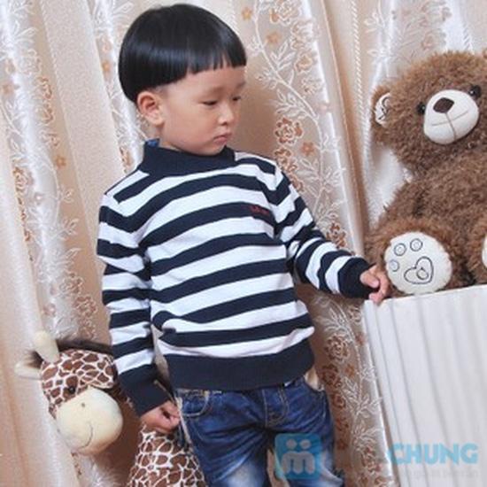 Áo len cao cổ cho bé trai bé gái - 5
