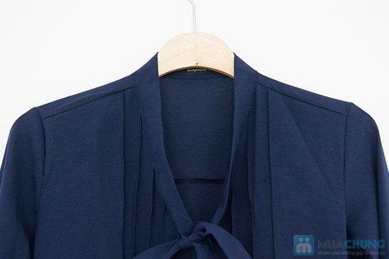 Trẻ trung và phong cách với chiếc áo sơ mi nơ xinh xắn - Chỉ 115.000đ/01 chiếc - 6