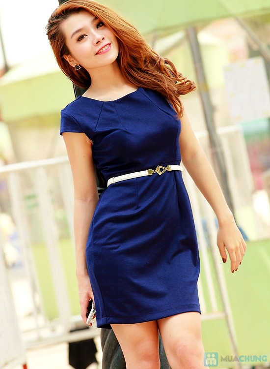 Đầm công sở - Nhẹ nhàng, thanh lịch - Sự lựa chọn mới cho bạn gái - chỉ với 153.000đ/ 01 chiếc - 3