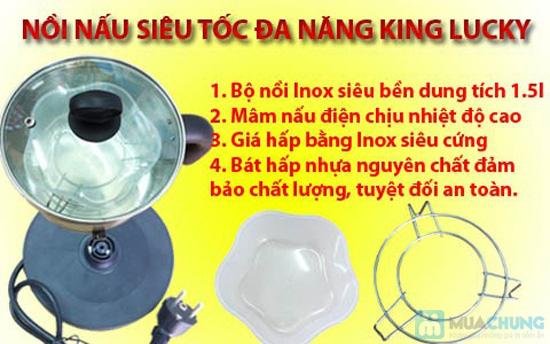 Nồi nấu siêu tốc đa năng King Lucky HA-S01- Chỉ 250.000đ/01 Chiếc - 5