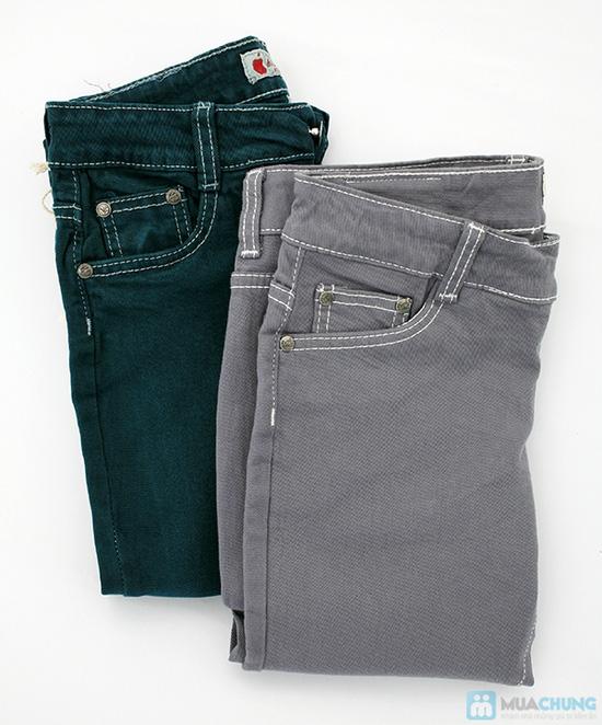 Quần jean dài cho nữ - co giãn 4 chiều - Chỉ 125.000đ/01 chiếc - 1