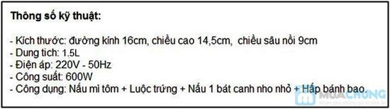Nồi nấu siêu tốc đa năng King Lucky HA-S01- Chỉ 250.000đ/01 Chiếc - 1