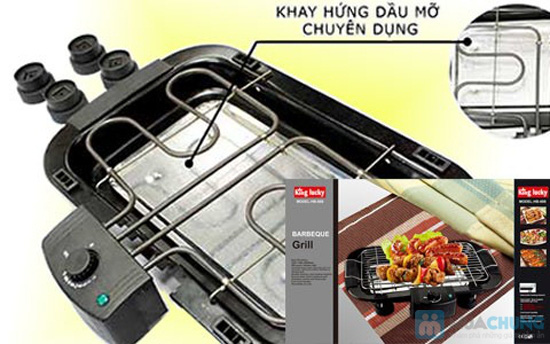 Vỉ nướng điện không khói King Lucky HB-888- Chỉ 350.000đ/01 Chiếc - 2
