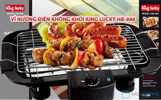 Vỉ nướng điện không khói King Lucky HB-888- Chỉ 350.000đ/01 Chiếc - 1