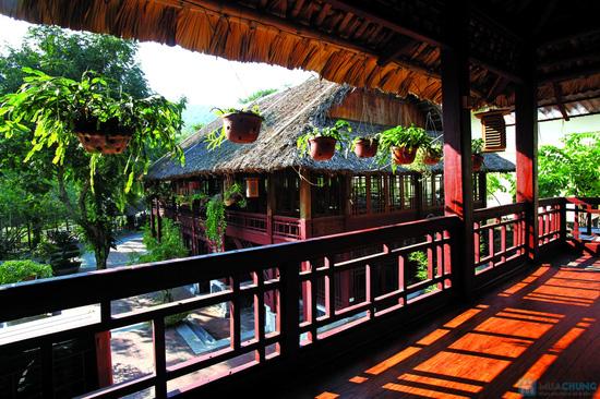 Thoải mái nghỉ dưỡng tại khu du lịch sinh thái V-Star Resort Hòa Bình. Phòng Deluxe cho 02 người kèm ăn sáng - Chỉ 385.000đ/đêm - 8