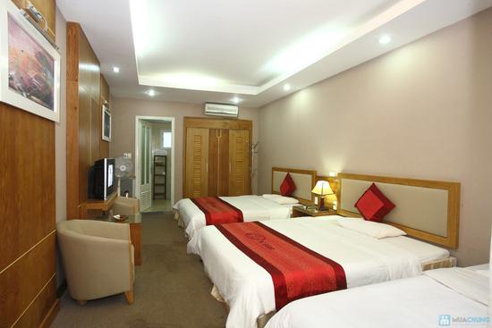 Thoải mái nghỉ dưỡng tại khu du lịch sinh thái V-Star Resort Hòa Bình. Phòng Deluxe cho 02 người kèm ăn sáng - Chỉ 385.000đ/đêm - 3