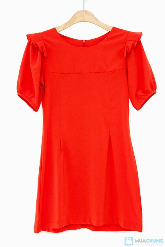 Đầm liền vai xếp li - Biến tấu nhẹ nhàng đem đến sự đáng yêu, dễ thương cho bạn gái- Chỉ 155.000đ - 5