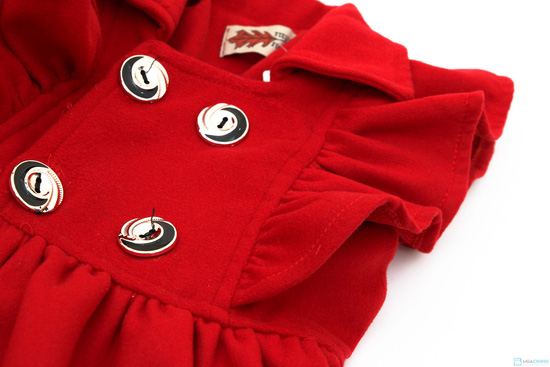 Váy dạ bé gái - Xinh xắn và đáng yêu - Ấm áp khi đông về - 1