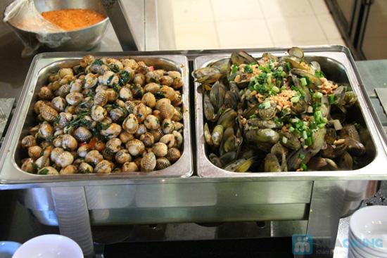 Buffet tối (2, 3, 4, 5) với các món Âu, Việt, Thái tại Nhà hàng Toppers - Chỉ 198.000đ/ 01 người - 6