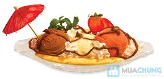 Set ăn 1 phần kem + 1 phần thức ăn tự chọn  dành cho 01 người tại  Cà Phê Tapu - Chỉ 55.000đ - 1