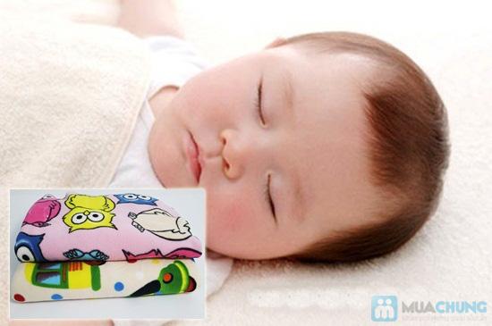 Mền nỉ in họa tiết ngộ nghĩnh cho bé - Giấc ngủ ấm áp - Chỉ 100.000đ/01 chiếc - 5