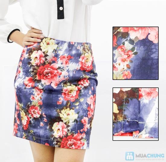 Dịu dàng đầy sắc màu với chân váy hoa điệu đà - Chỉ 85.000đ/01 chiếc - 1