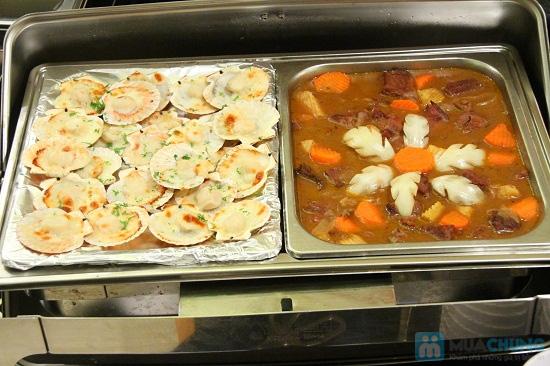 Buffet tối (2, 3, 4, 5) với các món Âu, Việt, Thái tại Nhà hàng Toppers - Chỉ 198.000đ/ 01 người - 10