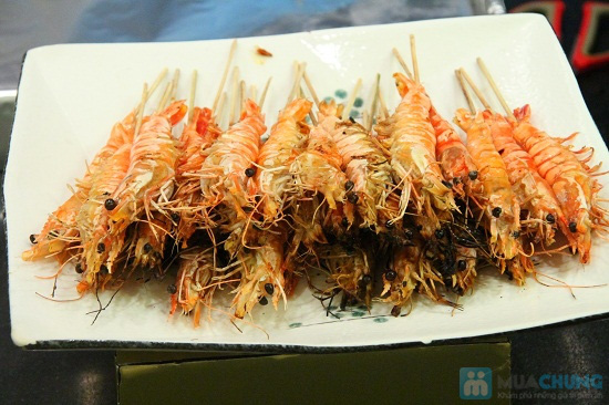 Buffet tối (2, 3, 4, 5) với các món Âu, Việt, Thái tại Nhà hàng Toppers - Chỉ 198.000đ/ 01 người - 12
