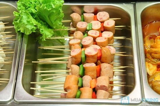 Buffet tối (2, 3, 4, 5) với các món Âu, Việt, Thái tại Nhà hàng Toppers - Chỉ 198.000đ/ 01 người - 7