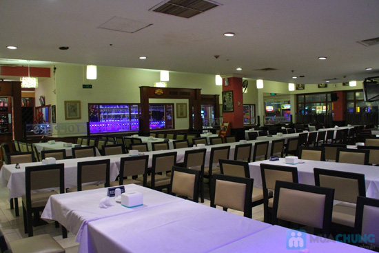Buffet tối (2, 3, 4, 5) với các món Âu, Việt, Thái tại Nhà hàng Toppers - Chỉ 198.000đ/ 01 người - 5