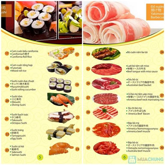 Buffet Lẩu nướng Nhật Bản tại Nhà hàng Bamboo Chic - Ngon miệng, đẹp mắt, ăn thỏa thích no nê chỉ với 219.000đ/người - 22
