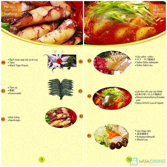 Buffet Lẩu nướng Nhật Bản tại Nhà hàng Bamboo Chic - Ngon miệng, đẹp mắt, ăn thỏa thích no nê chỉ với 219.000đ/người - 24