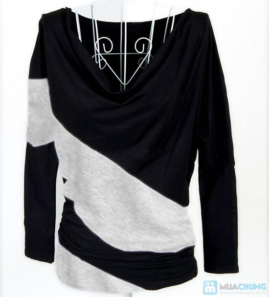 Trẻ trung và phong cách với áo thun dài tay cánh dơi - Chỉ 95.000đ/01 chiếc - 1