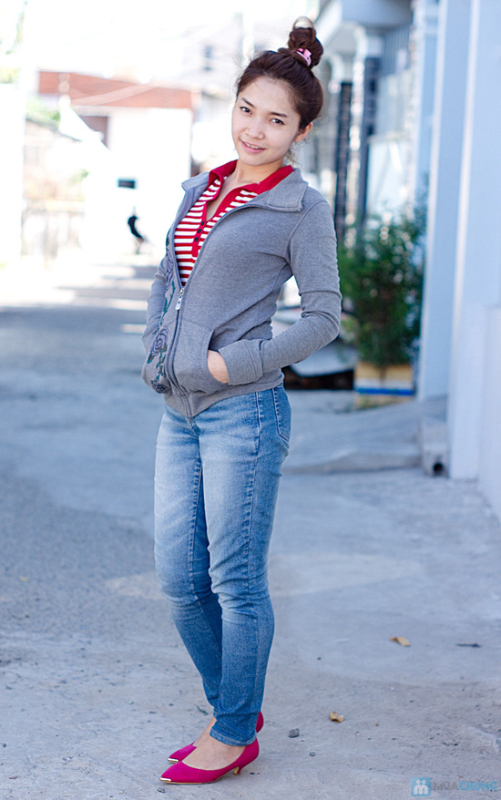 Áo khoác chống nắng, giữ ấm cho nữ - Chỉ 98.000đ/01 chiếc - 4