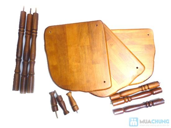 Phiếu mua kệ gỗ 3 tầng kiểu dáng cổ điển từ Công ty Lĩnh Nam - Chỉ 260.000đ  - 1