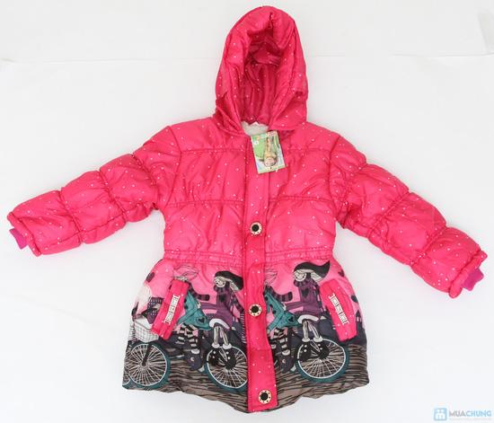 Aó phao lót lông ấm áp cho bé gái - 11