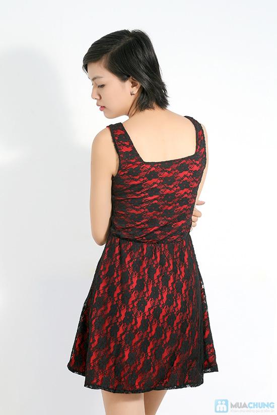 Đầm ren xòe nữ tính cho bạn gái - Chỉ 120.000đ - 5