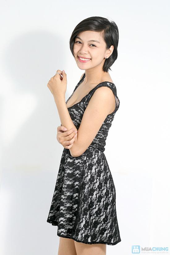 Đầm ren xòe nữ tính cho bạn gái - Chỉ 120.000đ - 7