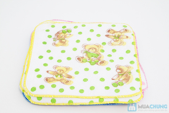Combo 10 khăn mặt cho bé - Chỉ 60.000đ/ 10 cái - 1