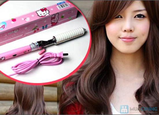 Máy uốn tóc Hello Kitty - Chỉ 114.000đ - 2