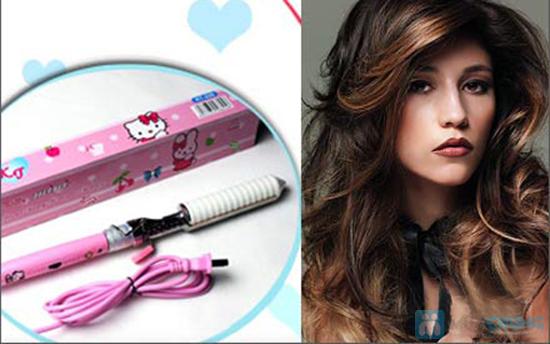 Máy uốn tóc Hello Kitty - Chỉ 114.000đ - 5