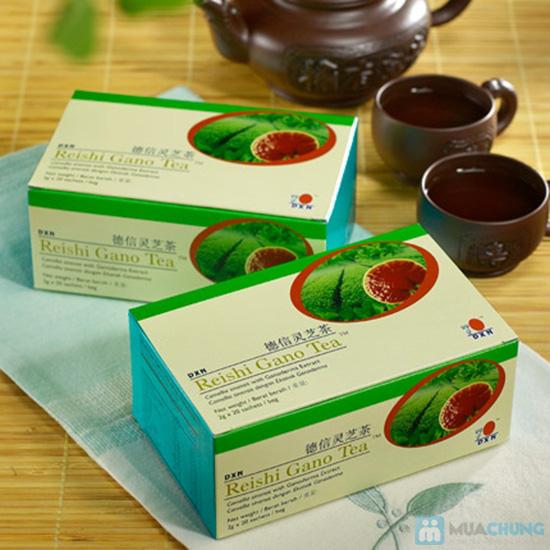 Trà linh chi Reishi Gano - Tăng cường sức khỏe - Chỉ 154.000đ/01 hộp - 1