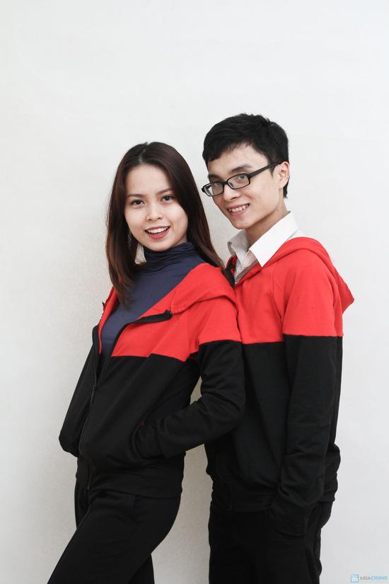 Mùa đông ngọt ngào với áo khoác đôi nam nữ - 6