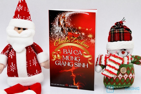 Bộ 3 tác phẩm thấm đẫm tinh thần nhân văn cao cả - Bài ca mừng Giáng sinh + Cánh buồm đỏ thắm + Những bông hoa tàng hình - Chỉ với 59.000đ - 1