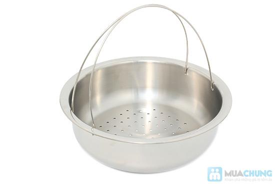 Bộ nồi + xửng hấp 2 trong 1 Happy Cook, món quà ý nghĩa cho việc nội trợ - Chỉ 285.000đ - 4