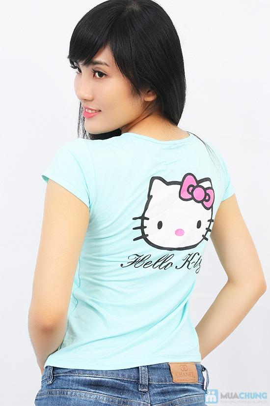 Áo thun họa tiết Hello Kitty - Chỉ với 71.000đ/ 01 chiếc - 3
