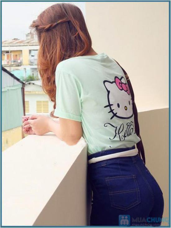 Áo thun họa tiết Hello Kitty - Chỉ với 71.000đ/ 01 chiếc - 8