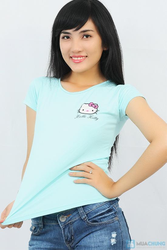 Áo thun họa tiết Hello Kitty - Chỉ với 71.000đ/ 01 chiếc - 1