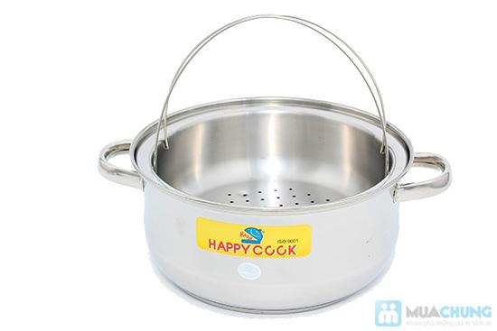Bộ nồi + xửng hấp 2 trong 1 Happy Cook, món quà ý nghĩa cho việc nội trợ - Chỉ 285.000đ - 2