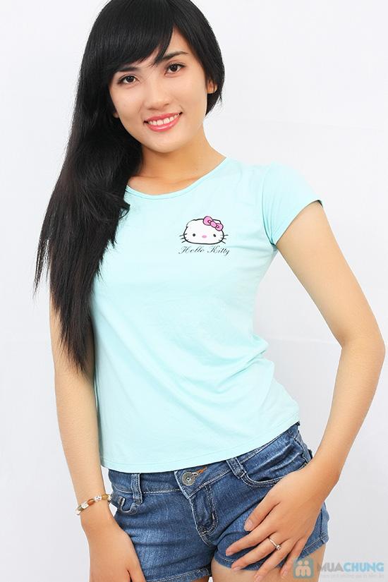 Áo thun họa tiết Hello Kitty - Chỉ với 71.000đ/ 01 chiếc - 2