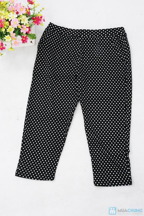 Tạo nét tinh nghịch cho bạn gái cùng quần lửng chấm bi - Chỉ 80.000đ/ 01 chiếc - 7