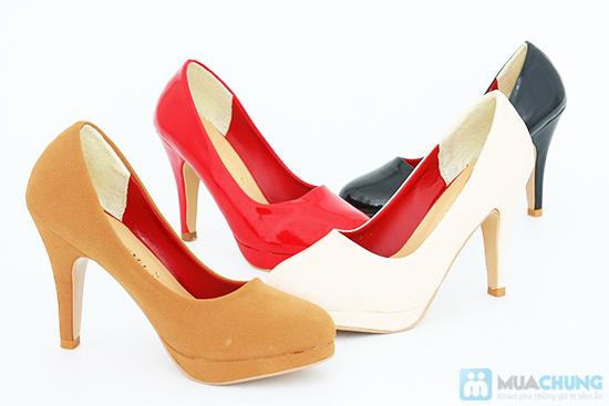 Tăng thêm vẻ sang trọng, nữ tính với giày cao gót bít mũi- Chỉ 168.000đ/01 đôi - 7
