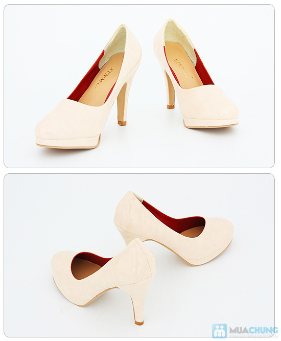 Tăng thêm vẻ sang trọng, nữ tính với giày cao gót bít mũi- Chỉ 168.000đ/01 đôi - 2
