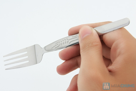 Bộ muỗng nĩa inox (12 muỗng x12 nĩa) - Chỉ 73.000đ - 4