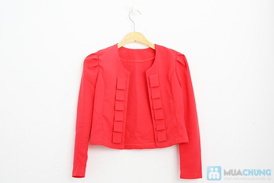 Áo khoác lửng nữ xếp line phong cách điệu đà - Chỉ 125.000đ/01 chiếc - 9