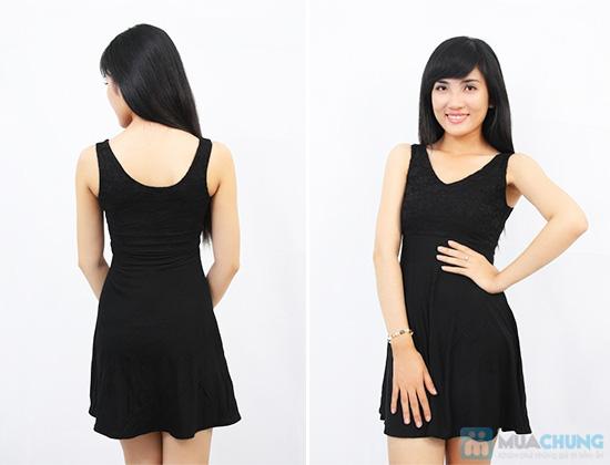 Đầm ren thun cách điệu dành cho bạn gái - Chỉ 105.000đ - 5