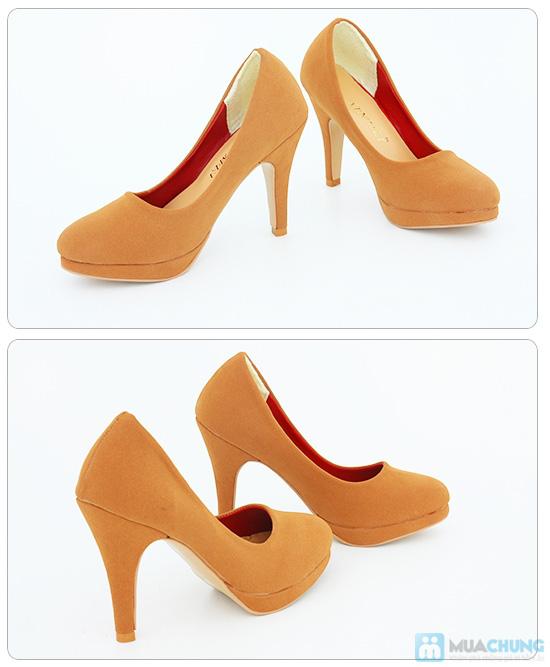 Tăng thêm vẻ sang trọng, nữ tính với giày cao gót bít mũi- Chỉ 168.000đ/01 đôi - 3