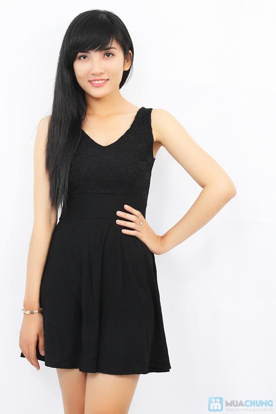 Đầm ren thun cách điệu dành cho bạn gái - Chỉ 105.000đ - 3
