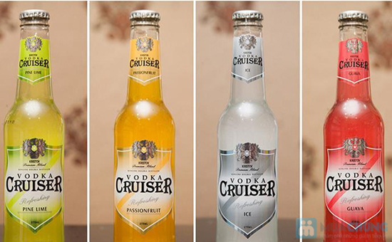 Combo 4 chai Vodka Cruiser - Chỉ 98.000đ - 3