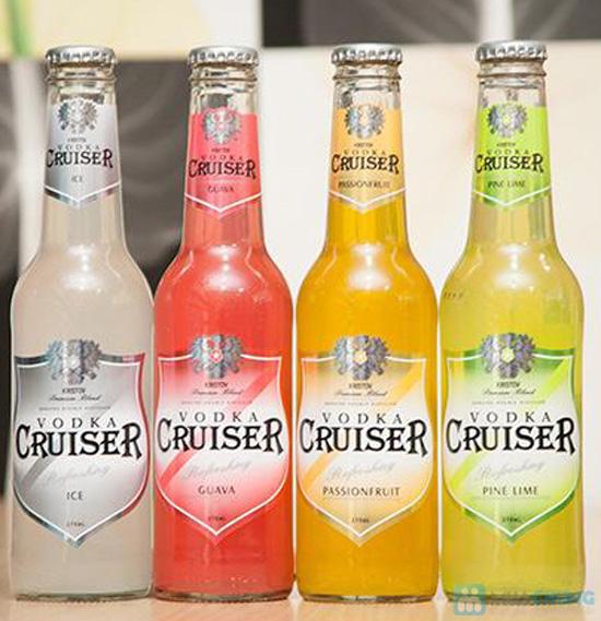 Combo 4 chai Vodka Cruiser - Chỉ 98.000đ - 1